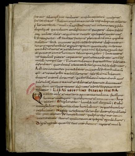 Isidori collectio, complectens quasdam SS. Clementis, Anacleti, Leonis et Gregorii epistolas
